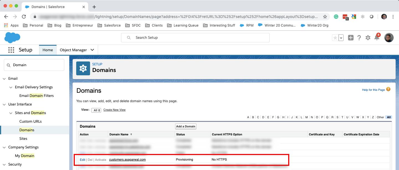 Custom Domain for Salesforce Community