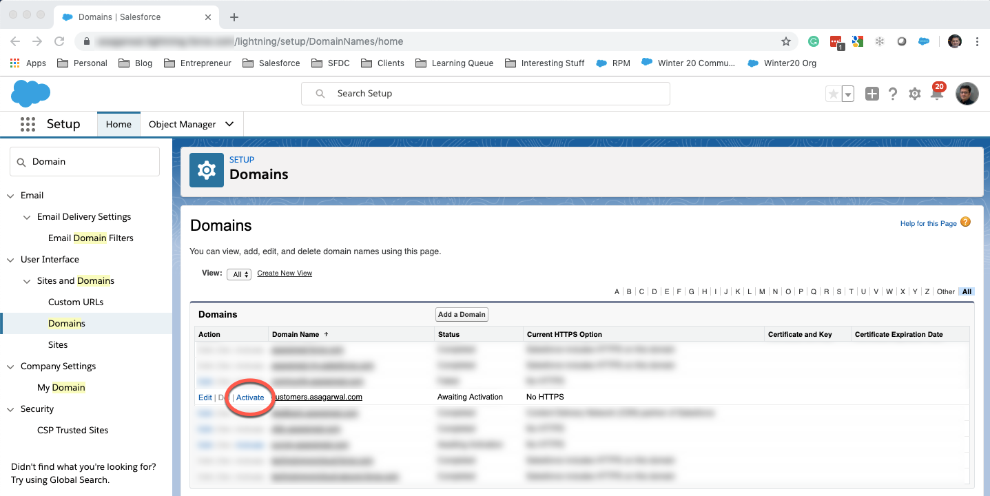 Custom Domain to Salesforce Community