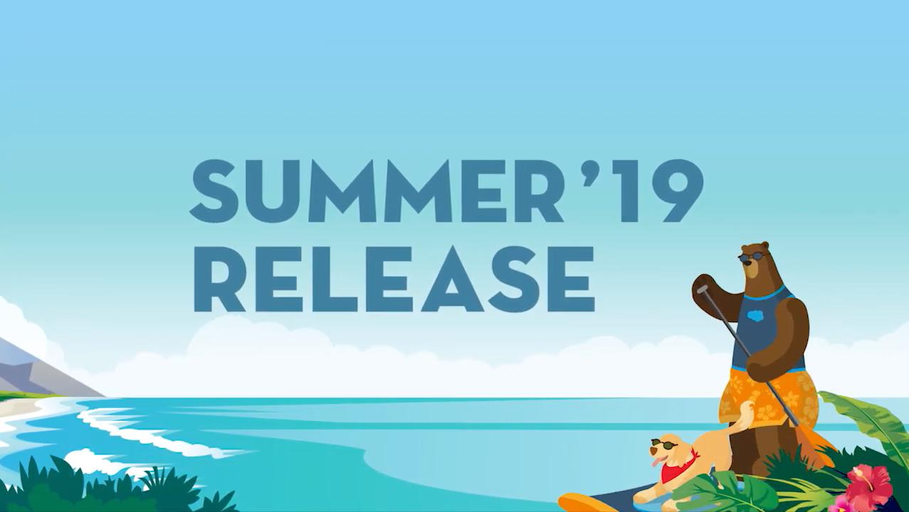 Salesforce Summer 19 Playlist on YouTube