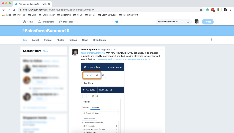 Salesforce Summer 19 on Twitter