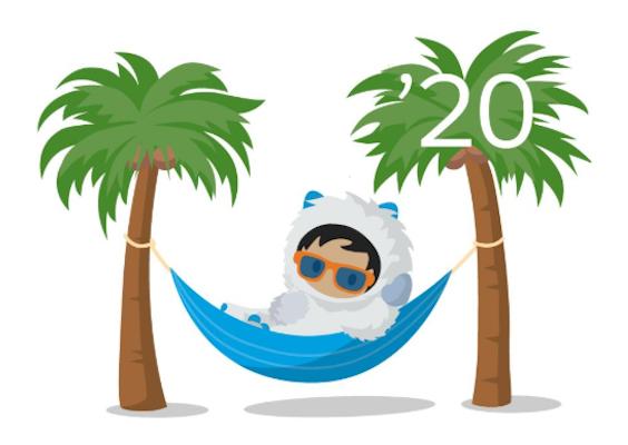 Salesforce Winter '20 Release Logo