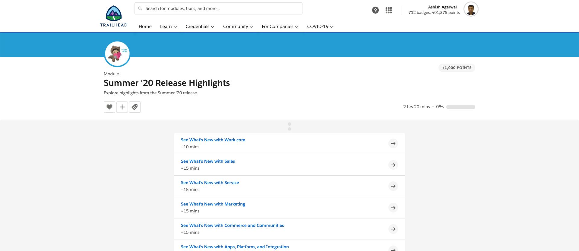 Salesforce Summer 20 Release Features