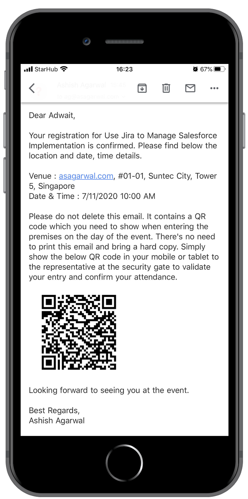 How to Generate & Use QR Code in Salesforce