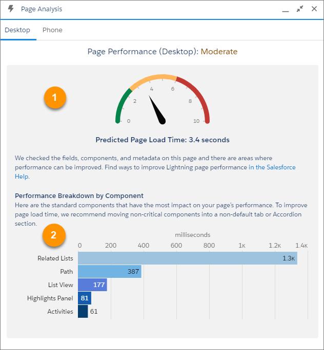 Lightning Page Performance