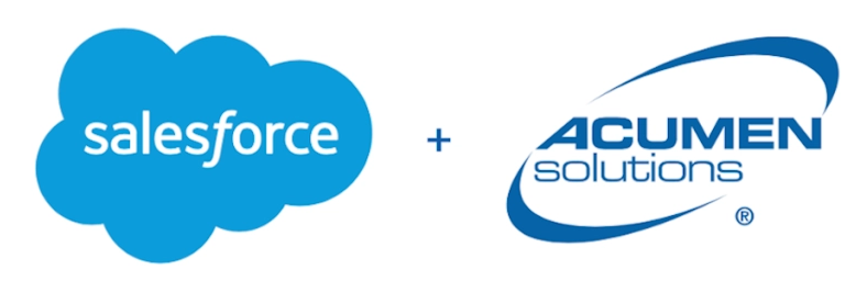 Salesforce acquires Acumen Solutions