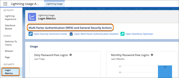 Monitor Login Metrics for Your Org's Identity Services