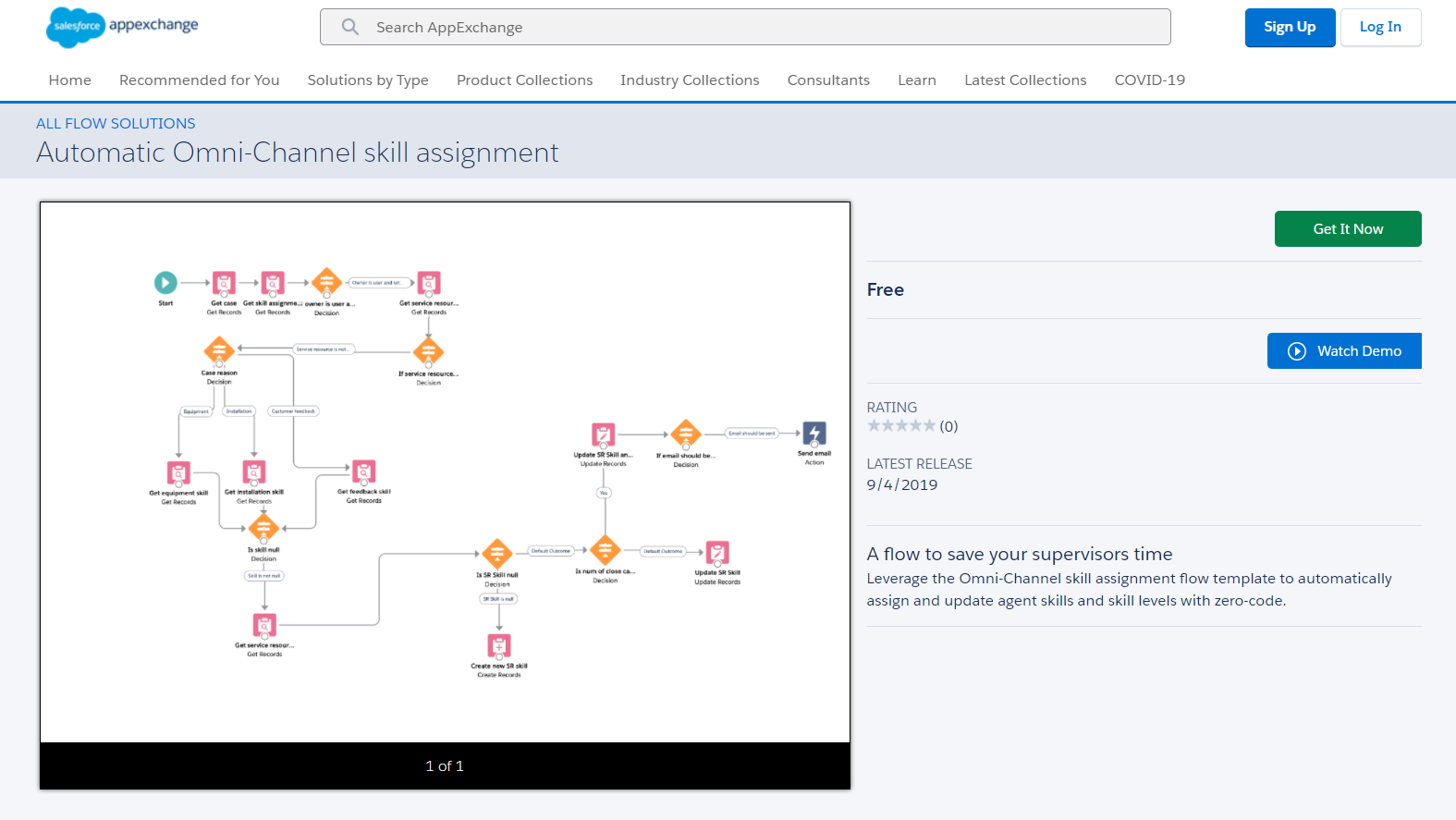 Automatic Omni-Channel Skill Assignment Flow From AppExchange
