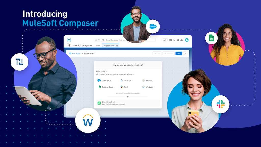 Salesforce Introduces MuleSoft Composer