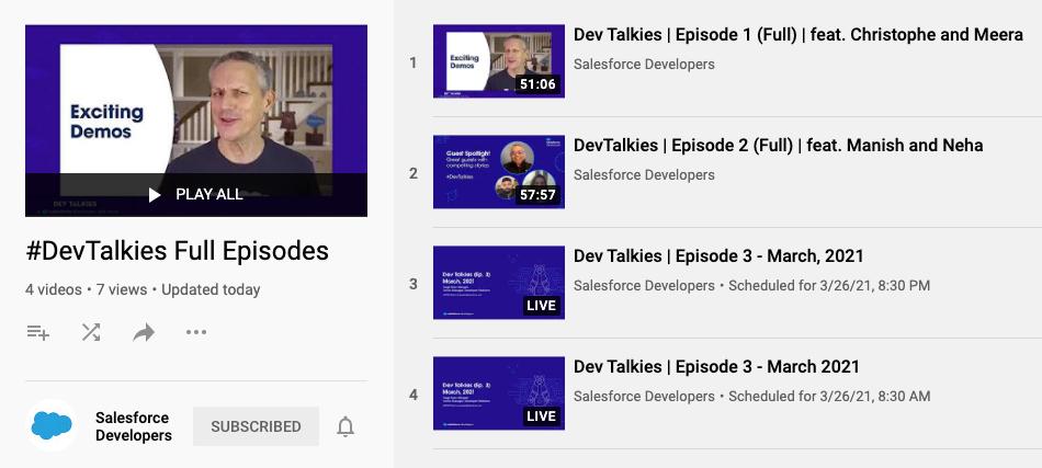 #DevTalkies New Developer Talk Show