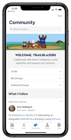 Trailblazer Community Now Available on Trailhead Go Mobile App