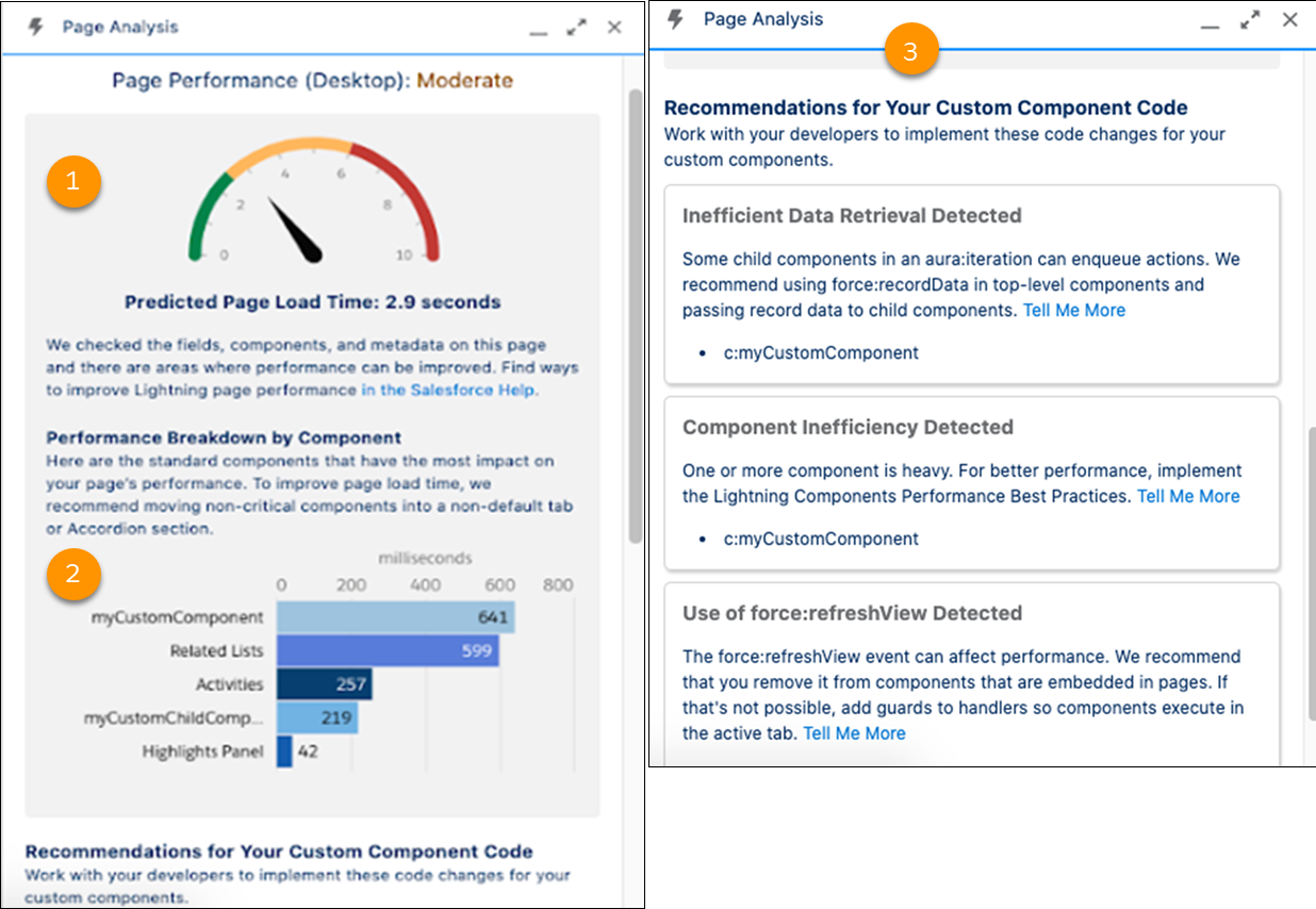 Improve Page Performance with Lightning Page Analysis Tool