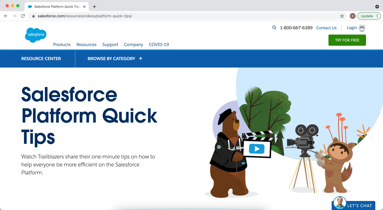 Salesforce Platform Quick Tips Series