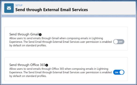 Send List Email through Gmail, Office 365, or Microsoft Exchange