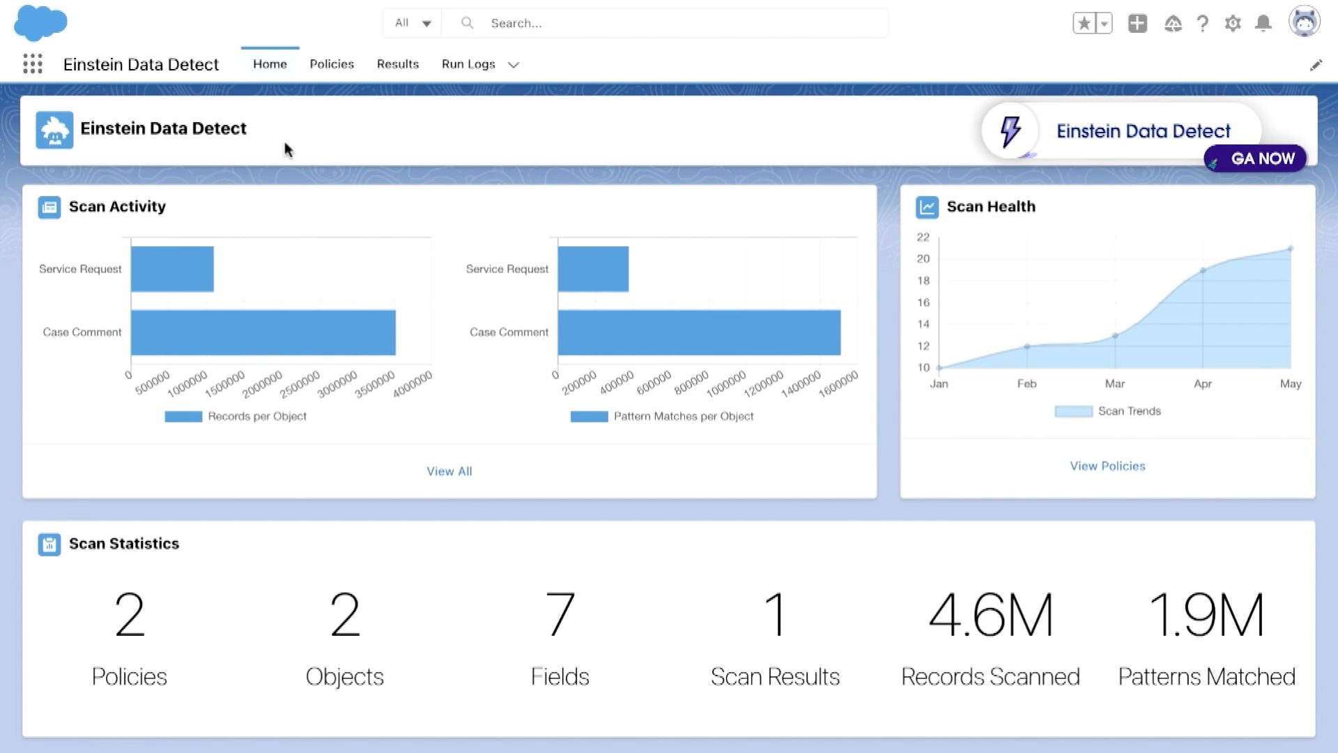 Scan Your Salesforce Org for Sensitive Information with Einstein Data Detect