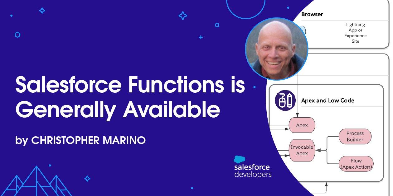 Salesforce Functions is Now in GA
